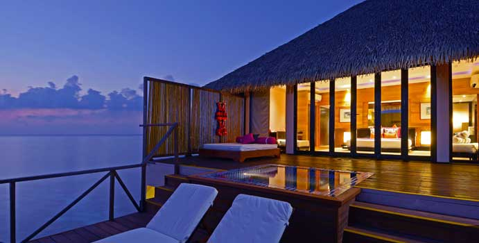 Terasse, Honeymoon Water Villa | Adaaran Prestige Vadoo