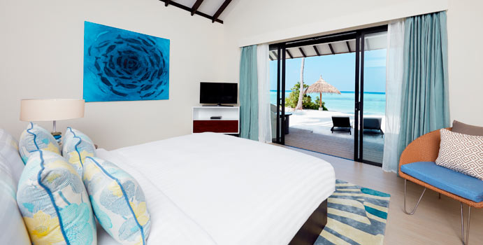 Schlafzimmer, Sunset Beach Villa | Amari Havodda, Malediven