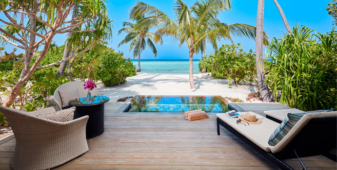 Pool, Beach Pool Villa | Amari Havodda, Malediven