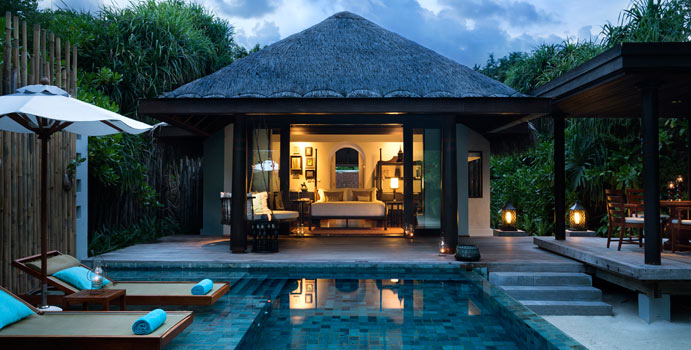 Beach Pool Villa | Anantara Kihavah Villas
