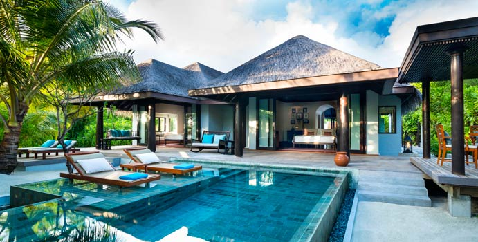 Family Beach Pool Villa | Anantara Kihavah Villas