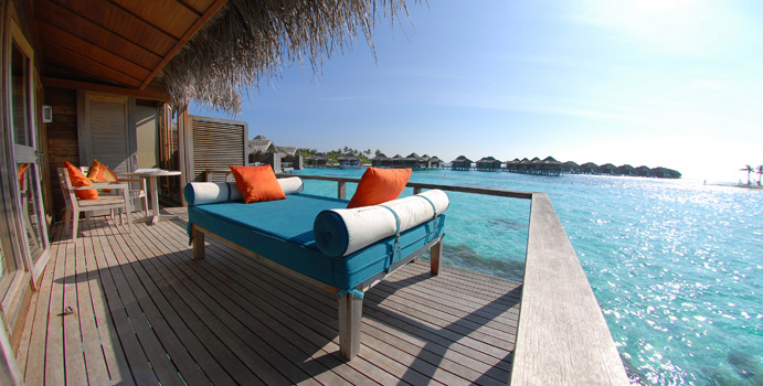 Over Water Bungalow, Terrasse | Anantara Veli Maldives Resort