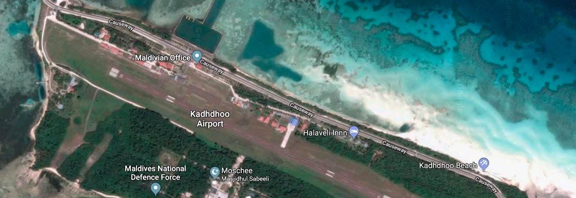 Kooddoo Airport, Laamu Atoll