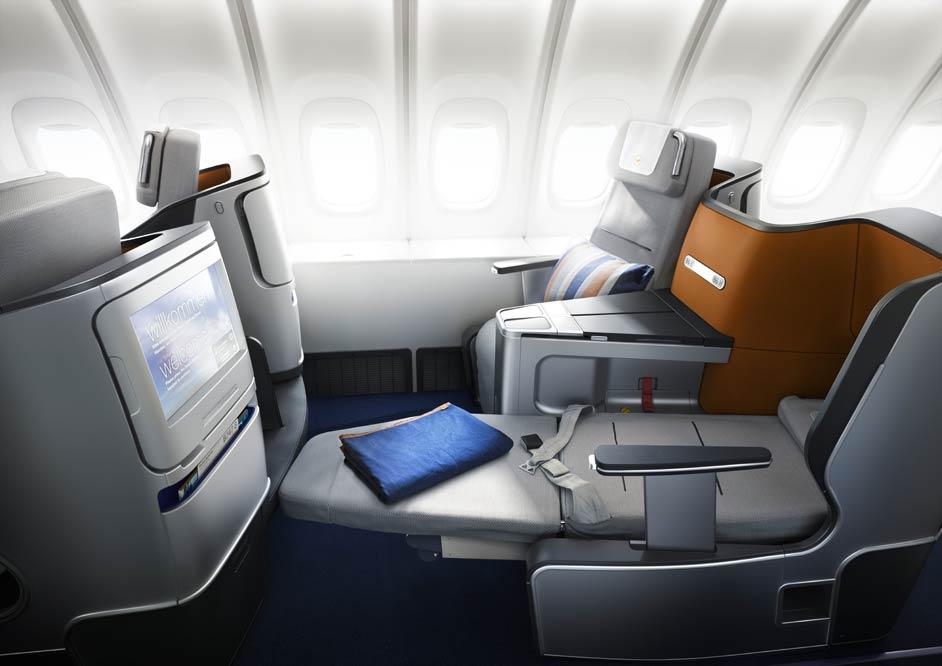 Lufthansa Business Sitzplatz