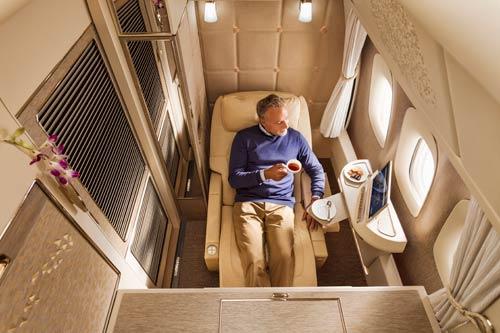 Emirates First Class Kabine