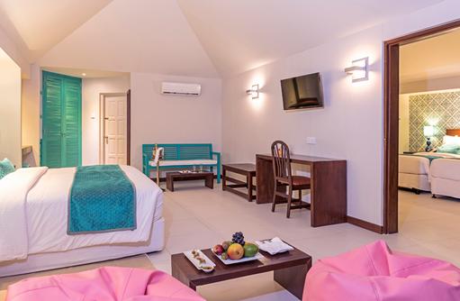 Schlafzimmer Family Villa, Adaaran Select Hudhuranfushi