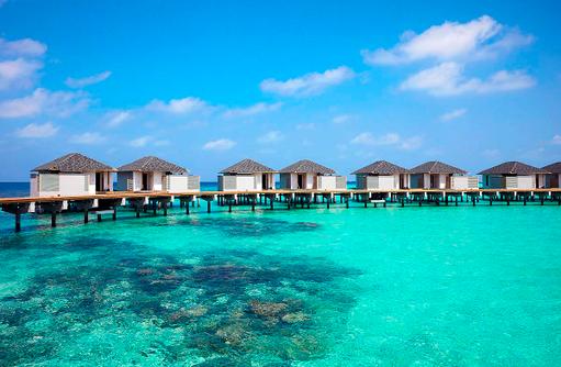 Wasserbungalows Amari Havodda Maldives