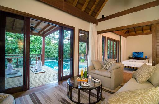 Yoga, Meditation, Javuu Spa, Tree House, Amilla Fushi, Malediven