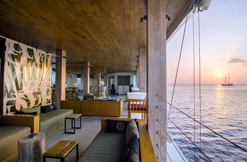 Lounge, Amilla Fushi, Malediven