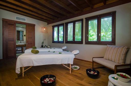 Javuu Spa, Massage, Wellness im Tree House, Amilla Fushi, Malediven