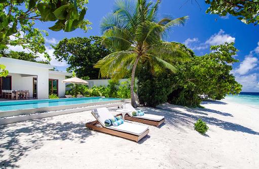 Beach House, Pool, Amilla Fushi