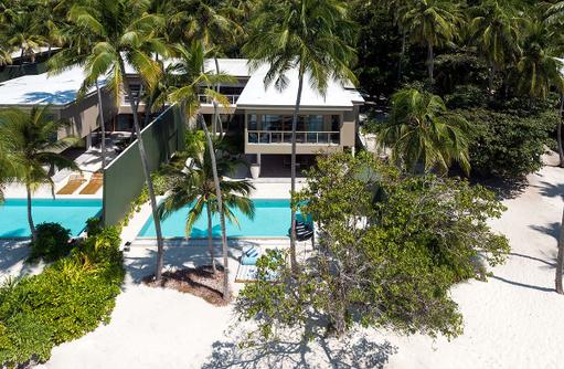 Beach Residence, Amilla Fushi, Malediven