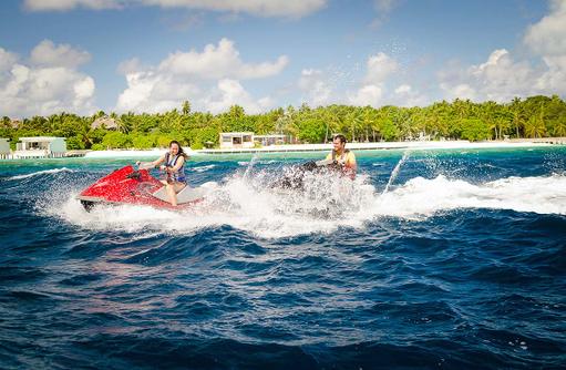 Jet Ski, Amilla Fushi, Malediven