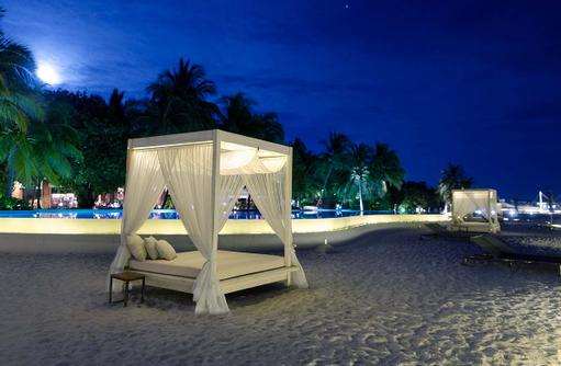 Balinesische Betten, Amilla Fushi, Malediven