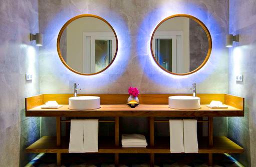 Badezimmer, Lagoon House, Amilla Fushi, Maldiven