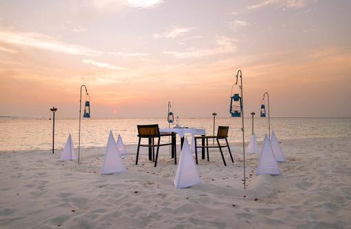 Romantisches Beach Dinner, Private Dinner, Amilla Fushi