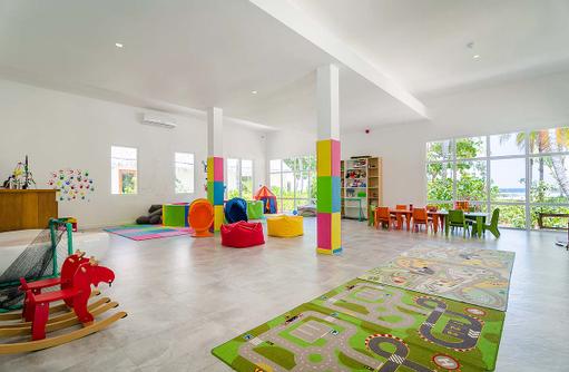 Kinderclub, Spielbereich, Amilla Fushi, Malediven
