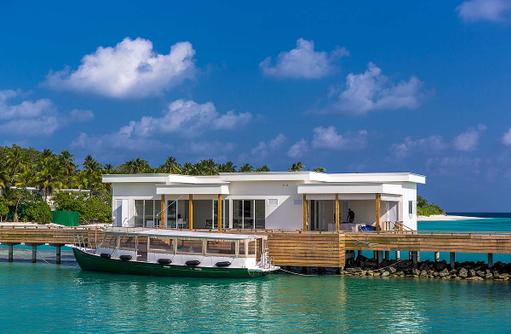 Tauchbasis, Amilla Fushi, Malediven
