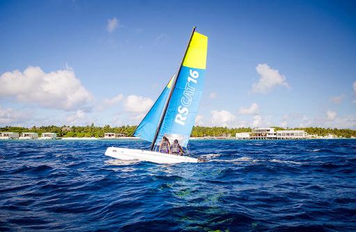 Segeln, Amilla Fushi, Malediven