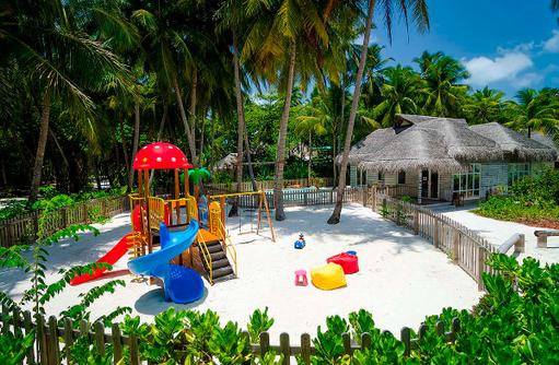 Kids Club, Spielplatz, Amilla Fushi, Malediven