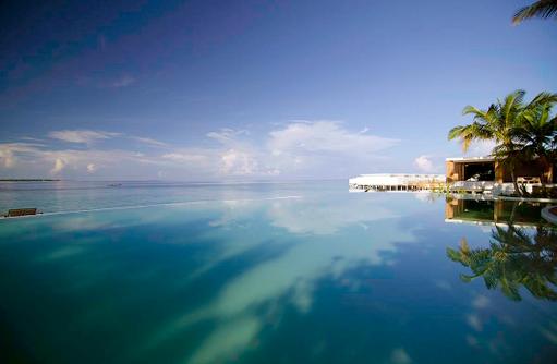 Main Pool, Hauptpool, Amilla Fushi, Malediven