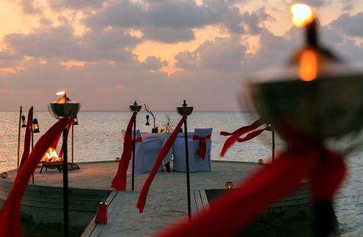 Dining by Design, Privates Dinner, Anantara Dhigu, Maledives