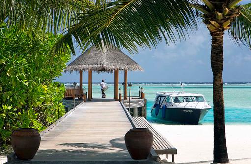 Ankunft im Anantara Dhigu, Maledives