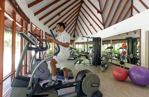 Fitnesscenter im Ananatara Dhigu, Maledives