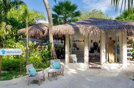 Tropicsurf Shop im Anantara Dhigu, Maledives