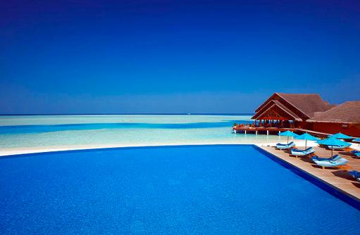 Hauptpool, Anantara Dhigu, Maledives