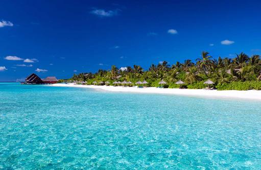 Sunset Beach im Anantara Dhigu, Maledives
