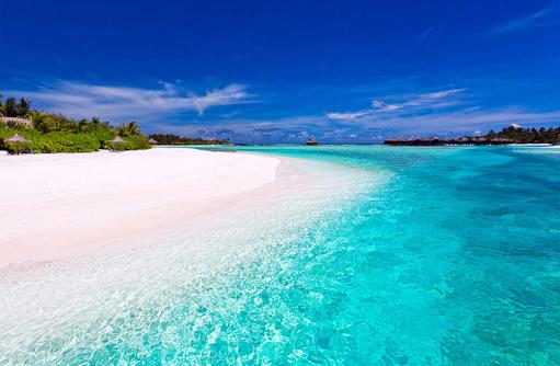 Sunrise Beach, Traumstrand im Anantara Dhigu, Maledives