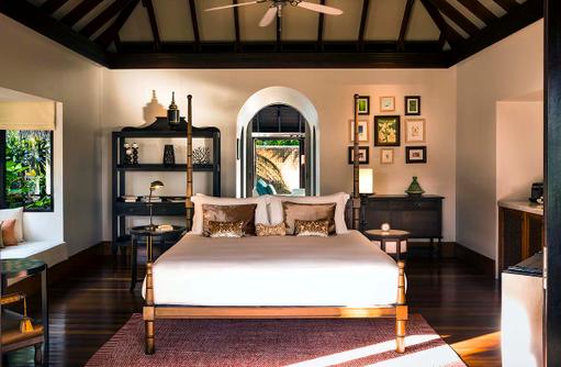 Three Bedroom Residence, Master Bedroom, Anantara Kihavah Villas, Maldives
