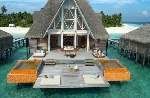 Spa, Relax Deck, Anantara Kihavah Villas, Maldives