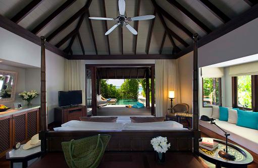 Family Beach Pool Villa, Blick auf das Meer, Anantara Kihavah Villas, Maldives