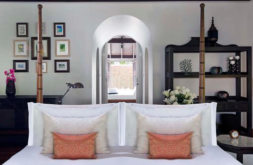 Two Bedroom Beach Pool Residence, Master Bedroom, Anantara Kihavah Villas, Maldives