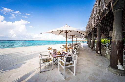 PLATES Restaurant, Anantara Kihavah Villas, Maldives