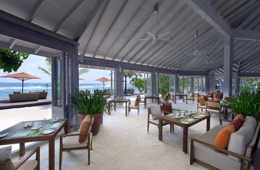 73 Degrees Restaurant, Essensbereich, Anantara Veli Maldives Resort
