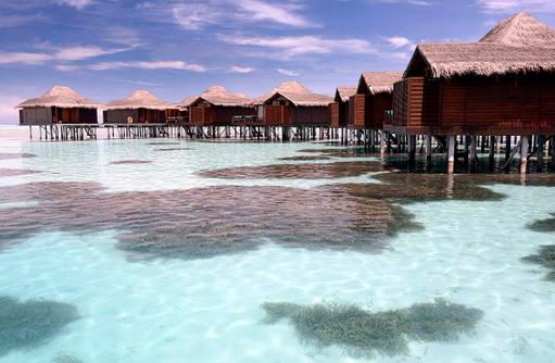 Water Bungalows, Haus auf Stelzen, Anantara Veli Maldives Resort