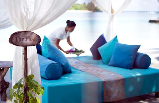 Anantara Spa, Wasserbett, The Float, Anantara Veli Maldives Resort