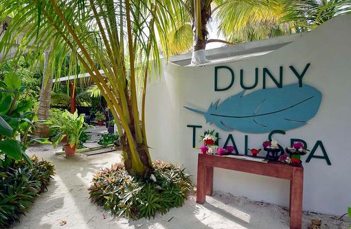 Duny Thai Spa, Eingang, Angaga Island Resort & Spa, Maldives