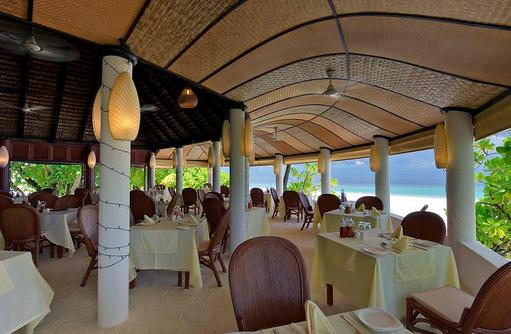 Dolphin Restaurant, Sitzbereich, Angaga Island Resort & Spa, Maldives