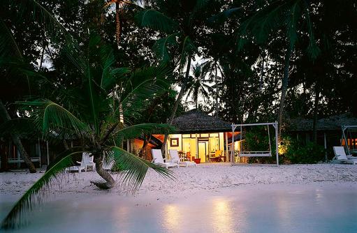 Beachfront Villa, Blick vom Strand, Angsana Ihuru, Malediven