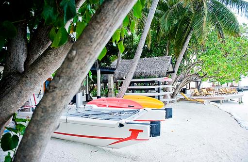 Sport Center am Strand, Wassersport, Angsana Ihuru, Malediven
