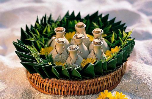 Essential Oils, Spa, Wellness, Angsana Ihuru, Malediven