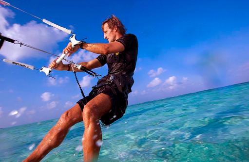 Kitesurfen, Angsana Velavaru, Malediven