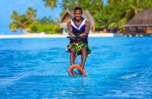 Wakeboard, Angsana Velavaru, Malediven