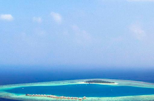 Atoll, Angsana Velavaru, Malediven