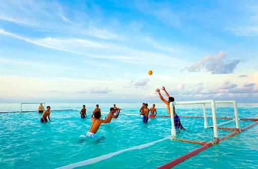 Wasserball, Angsana Velavaru, Malediven
