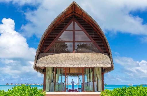 Heiraten auf den Malediven, Hochzeitspavillion, Angsana Velavaru, Malediven